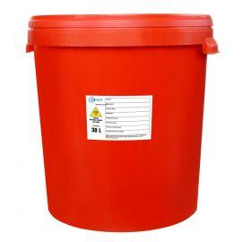 Pojemnik na odpady medyczne 30L czerwony