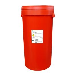Pojemnik na odpady medyczne 60L czerwony