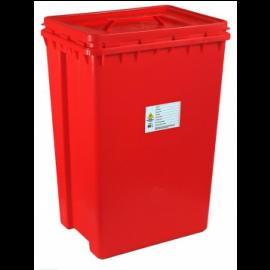 Pojemnik na odpady medyczne 60L prostokątny