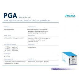ATRAMAT-PGA szwy chirurgiczne wchłanialne