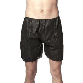 Bokserki męskie jednorazowe czarne