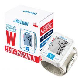 Ciśnieniomierz nadgarstkowy NOVAMA White W