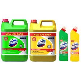 Domestos, płyn do czyszczenia i dezynfekcji powierzchni