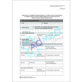 druk_oświadczenie_deklaracja_położna_ginekologia_ciężarna_NOWY
