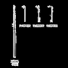 Haczyk uszny LUCAE, długość 14 cm