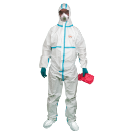 Indywidualny zestaw ochrony biologicznej m.in. przeciw gorączce krwotocznej - wirusowi Ebola