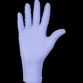 Rękawiczki nitrylowe, bezpudrowe, lawendowe, kategoria III - zwiększona ochrona, Nitrylex Classic Violet, Mercator Medical - op. 100 szt.