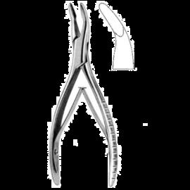 Odgryzacz kostny MEAD z okrągłą końcówką, długość 16,5 cm