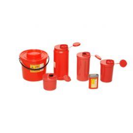 Pojemnik na odpady medyczne 1,5L czerwony