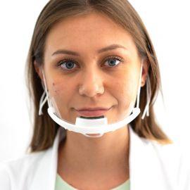Mini przyłbica na brodę - maska ochronna na twarz