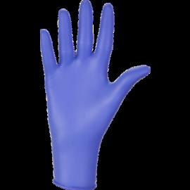 Rękawiczki nitrylowe, bezpudrowe, niebieskie, Nitrylex Basic, Mercator Medical, op. 100 szt.