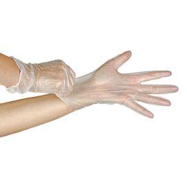 Rękawiczki winylowe, lekko pudrowane, Vinylex Powdered, Mercator Medical - op. 100 szt.