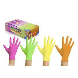 Rękawiczki nitrylowe, bezpudrowe, kolorowe, Tutti Frutti, op. 96 szt.