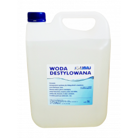 Woda destylowana 5 L